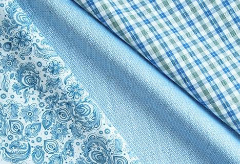 Stoffe für Hemden und Blusen
